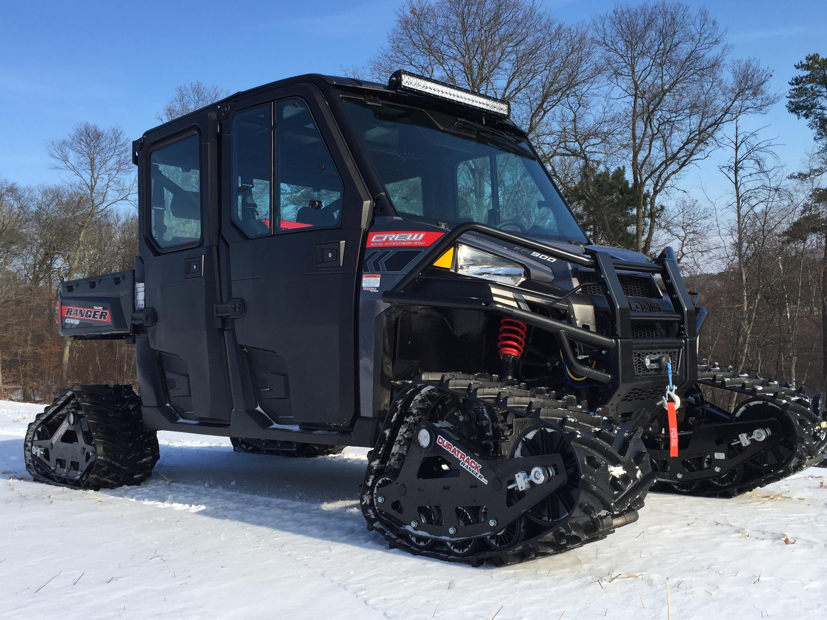 All Terrain Track System For Polaris Ranger Utv S From